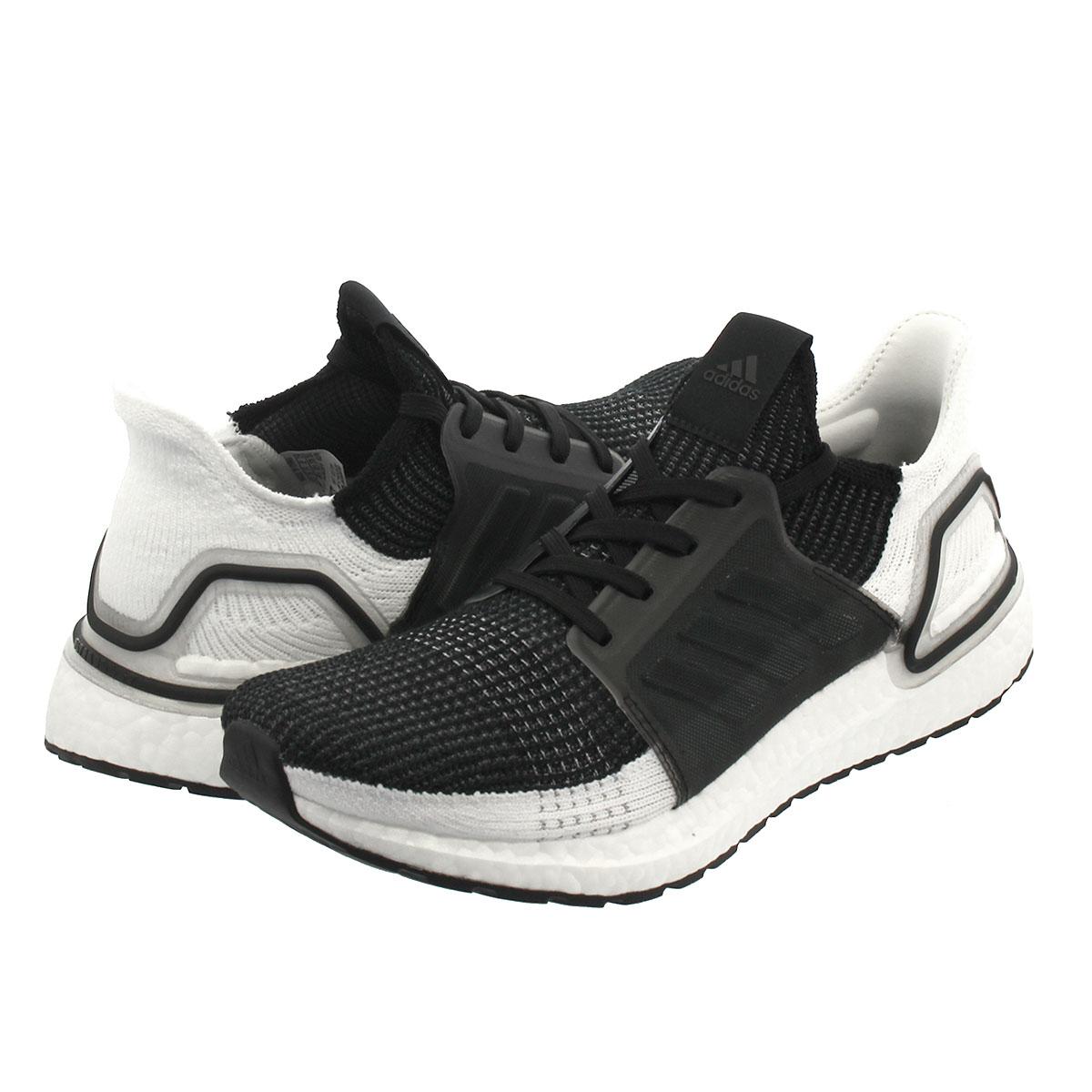 【毎日がお得!値下げプライス】 adidas ULTRA BOOST 19 アディダス ウルトラ ブースト 19 CORE BLACK/GREY SIX/GREY FOUR b37704