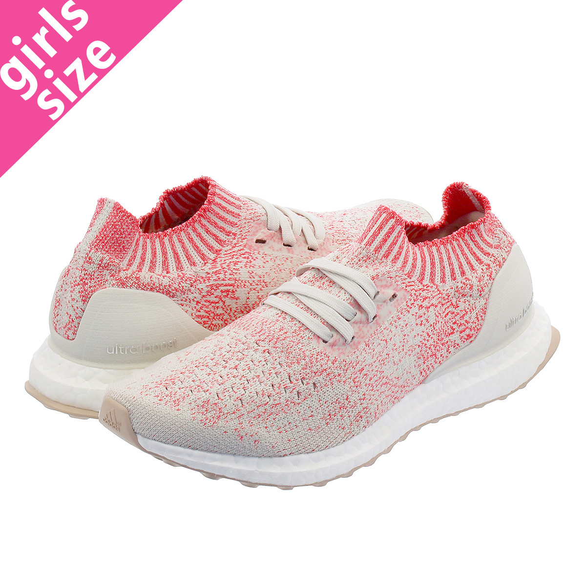 get new many styles authentic quality adidas ULTRA BOOST UNCAGED W Adidas ultra boost Ann caged W  WHITE/WHITE/SHOCK RED b75863