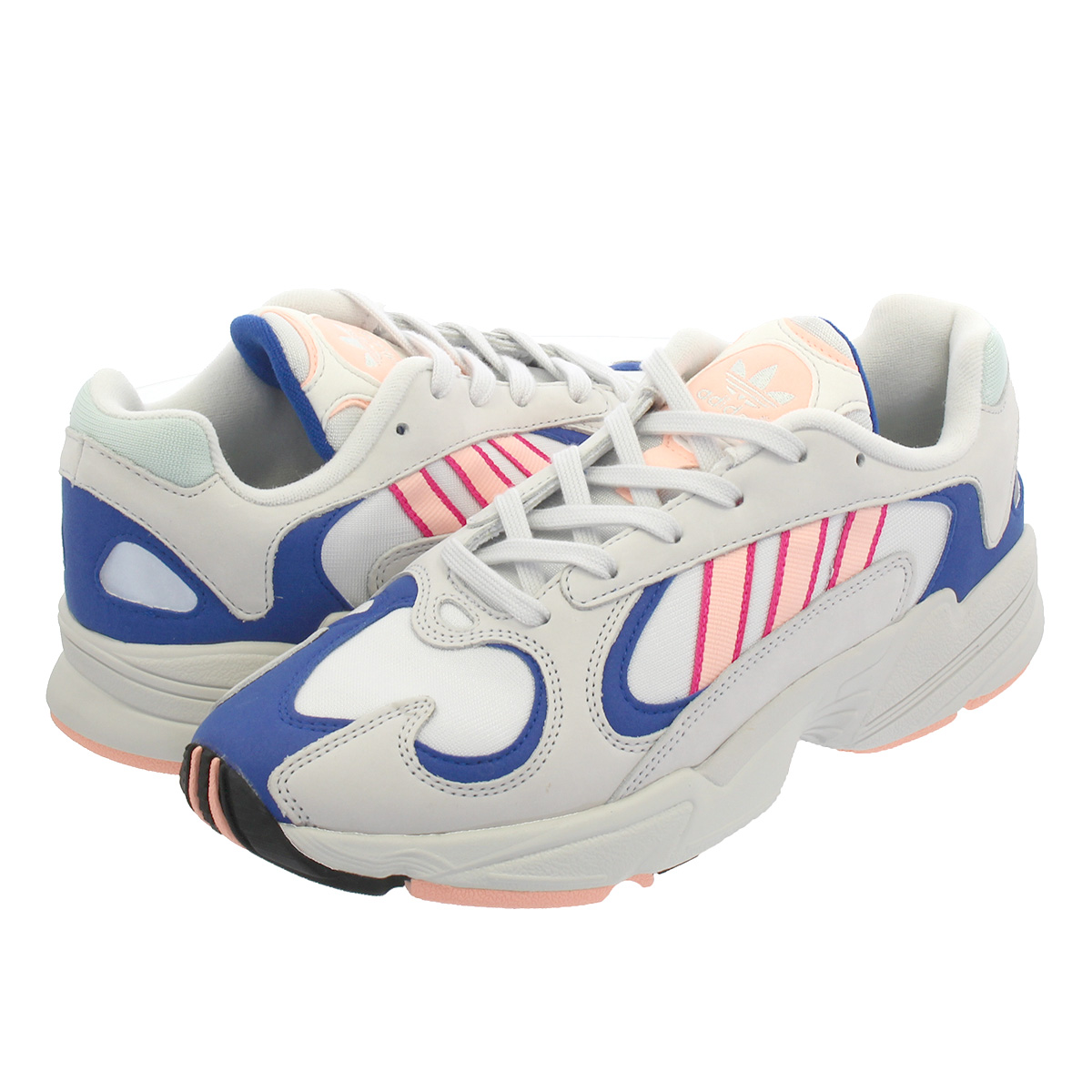 【お買い物マラソンSALE】 adidas YUNG-1 CRYSTAL 【adidas Originals】 アディダス ヤング 1 WHITE/CLEAR ORANGE/COLLEGE ROYAL bd7654