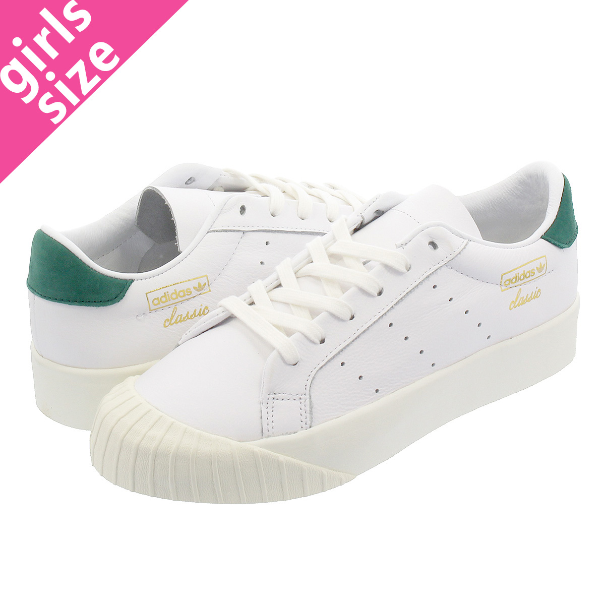 finest selection 093e9 a0bf6 SELECT SHOP LOWTEX adidas EVERYN W Adidas Ebb phosphorus women RUNNING  WHITERUNNING WHITECOLLEGIATE GREEN cg6076  Rakuten Global Market