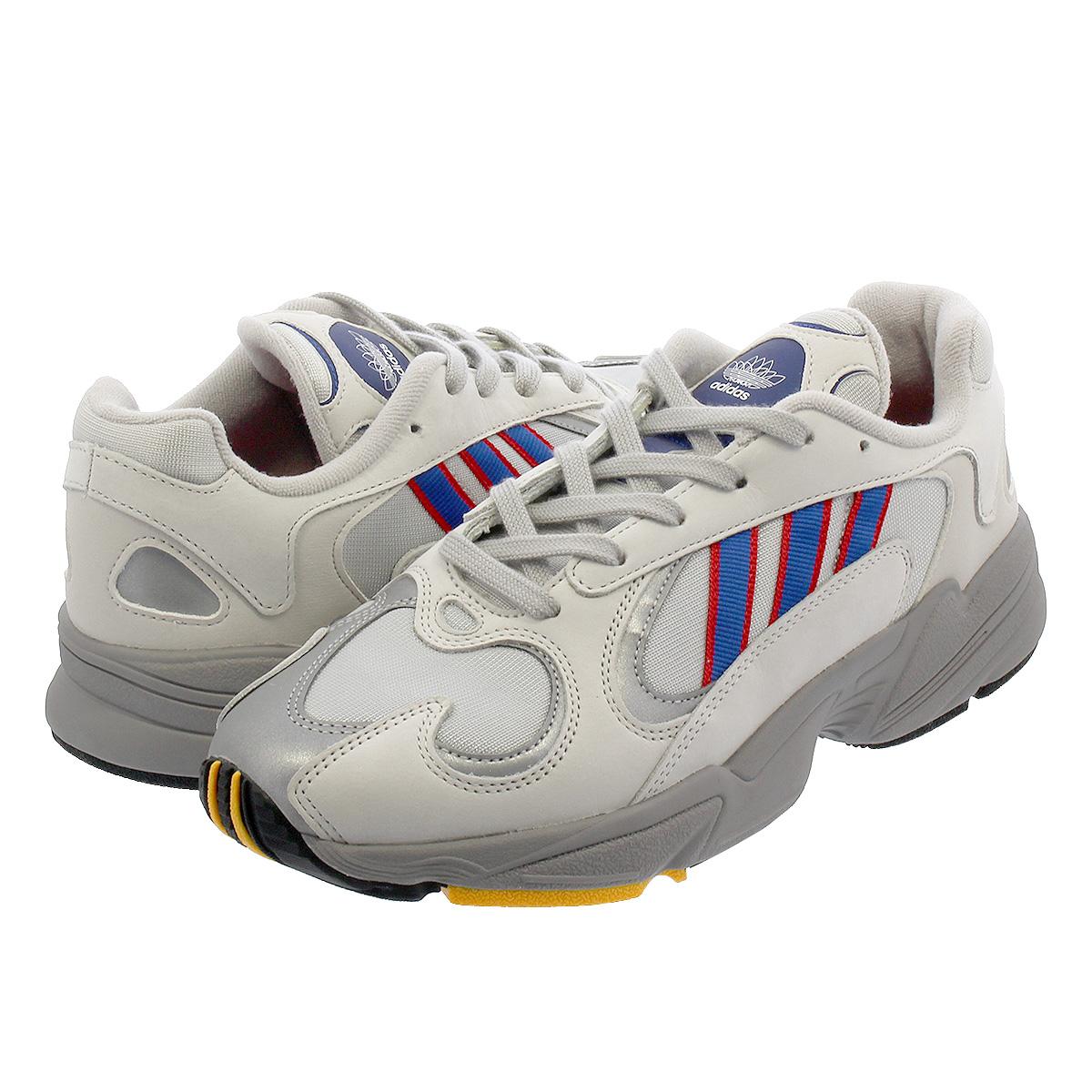 【お買い物マラソンSALE】 adidas YUNG-1 【adidas Originals】 アディダス ヤング 1 GREY/COLLEGE ROYAL/SCARLET cg7127