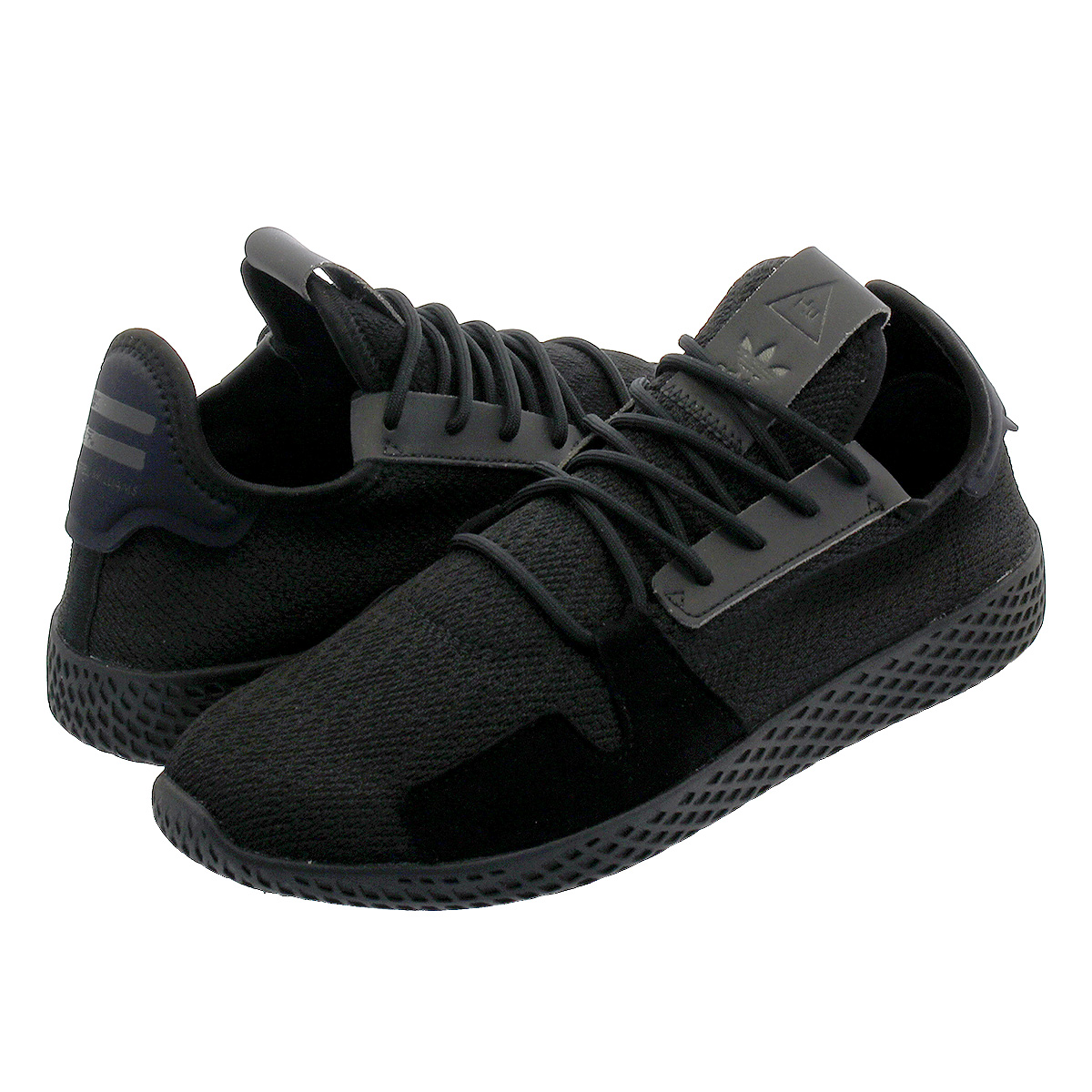 the best delicate colors best authentic adidas PW TENNIS HU V2 Adidas Farrell Williams tennis HU V2 CORE  BLACK/CARBON/RUNNING WHITE db3326