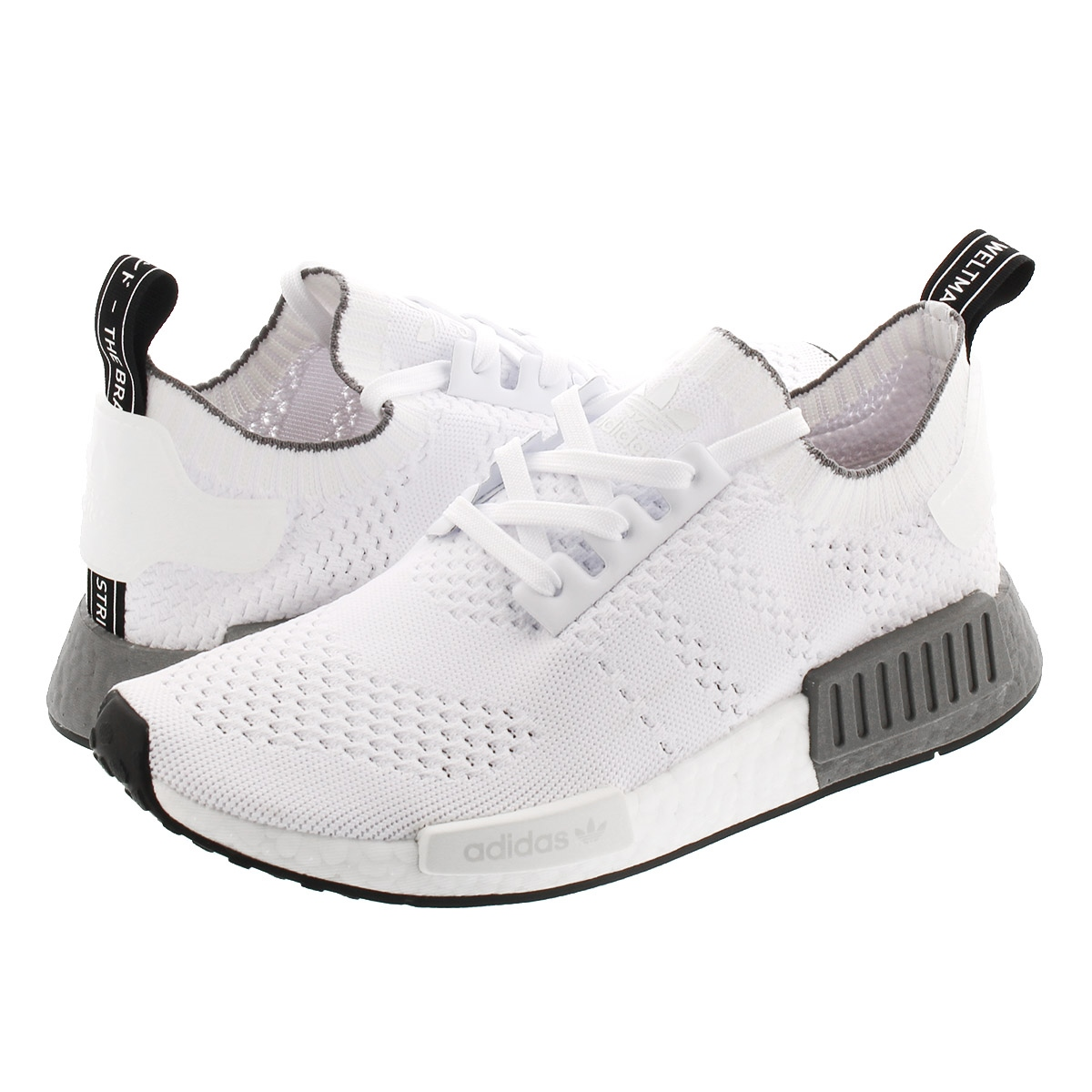 【お買い物マラソンSALE】 adidas NMD_R1 PK アディダス NMD R1 PK RUNNING WHITE/RUNNING WHITE/GERY THREE ee5074