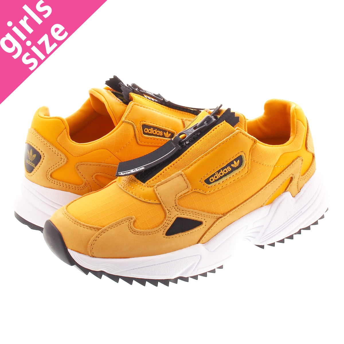 adidas ADIDASFALCON ZIP W Adidas Adidas falcon zip women ACTIVE GOLD/CORE  BLACK/RUNNIG WHITE ee5113
