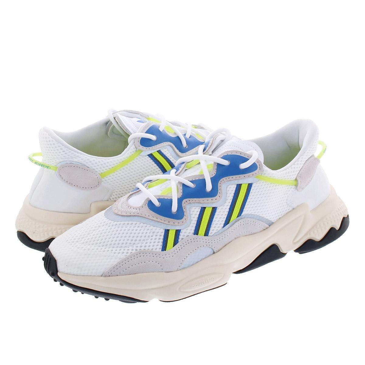 【毎日がお得!値下げプライス】 adidas OZWEEGO アディダス オズウィーゴ RUNNING WHITE/GREY/SOLAR YELLOW ee7009