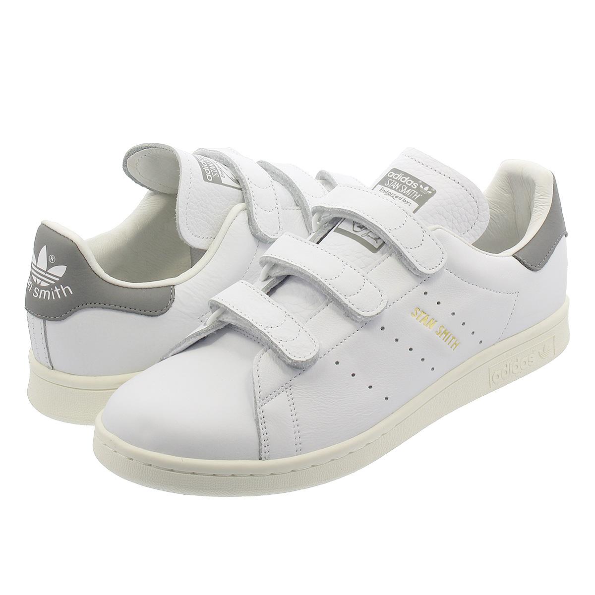 size 40 95d93 e68c8 adidas STAN SMITH CF Adidas Stan Smith CF RUNNING WHITE/RUNNING WHITE/GREY  ee8542