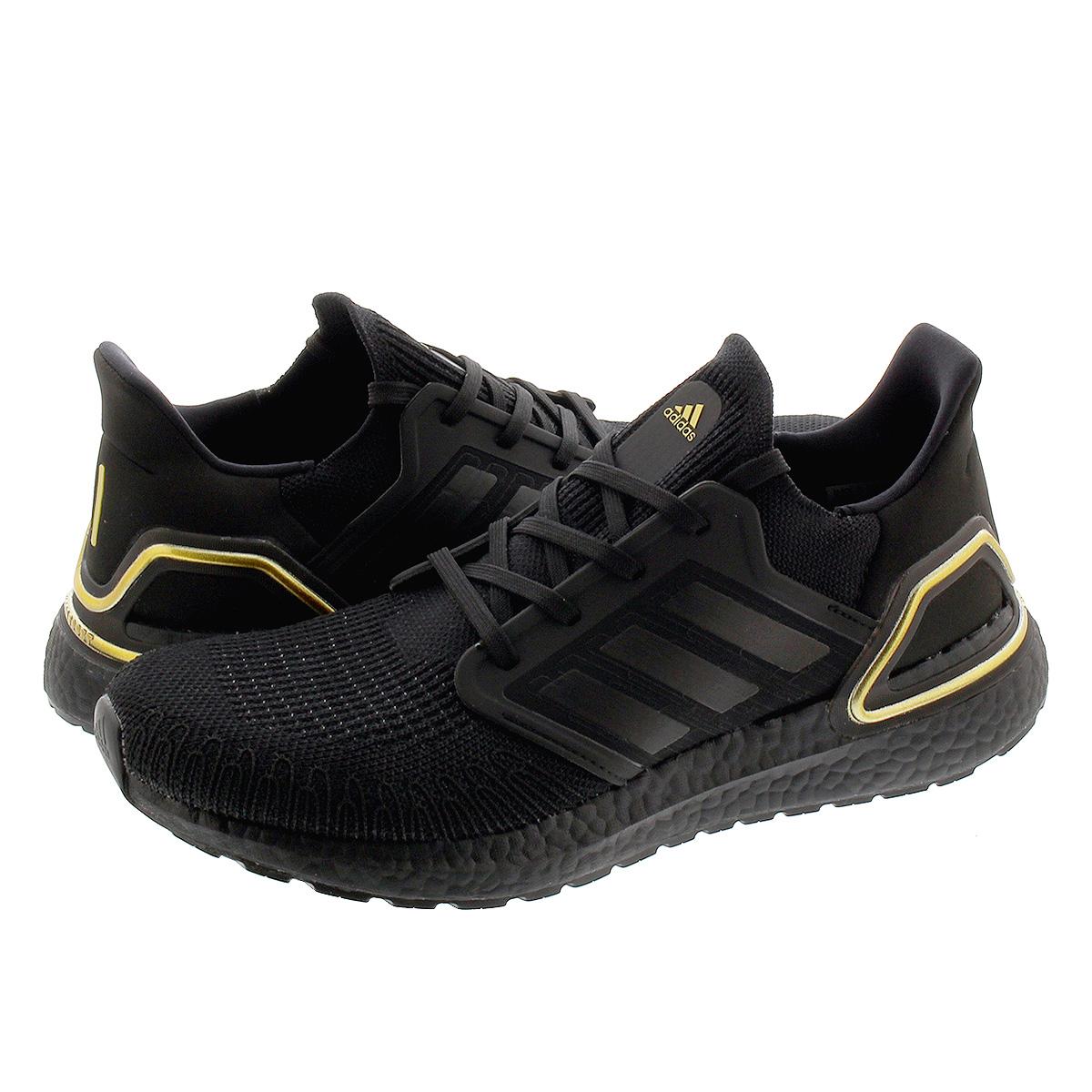 【毎日がお得!値下げプライス】 adidas ULTRA BOOST 20 アディダス ウルトラブースト 20 CORE BLACK/CORE BLACK/GOLD METALLIC eg0754
