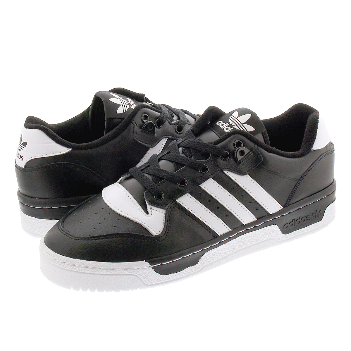 adidas RIVALRY LOW アディダス リバルリー ロー CORE BLACK/FTWR WHITE/FTWR WHITE eg8063