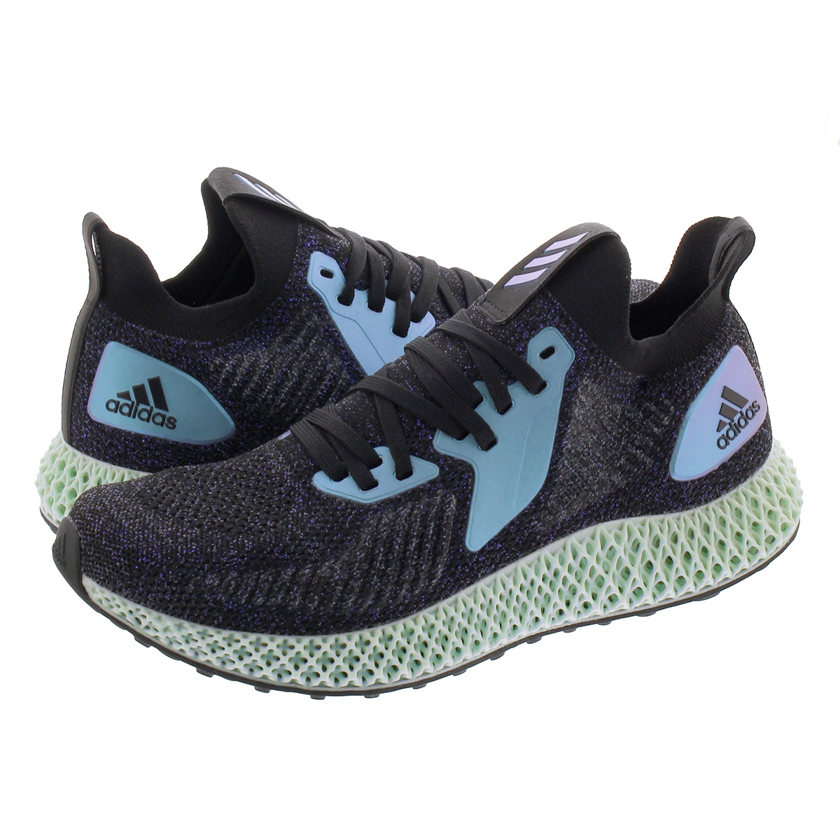 【お買い物マラソンSALE】 adidas ALPHAEDGE 4D アディダス アルファエッジ 4D CORE BLACK/GLORY BLUE/COLLEGE PURPLE fv6106