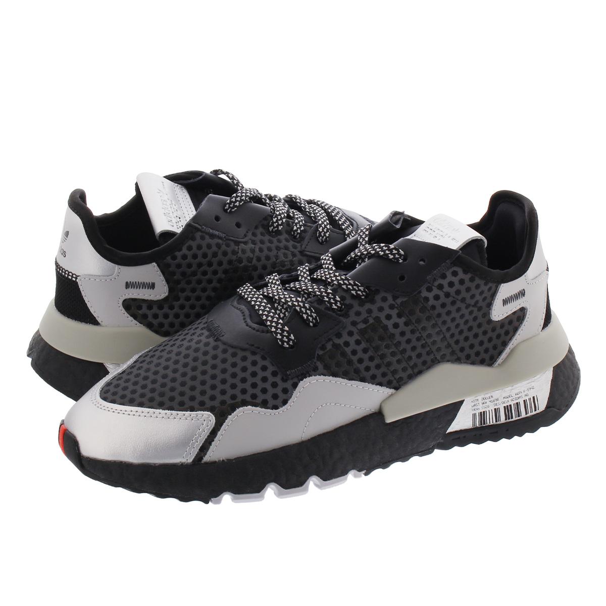 adidas NITE JOGGER アディダス ナイト ジョガー CORE BLACK/SILVER METALLIC/GREY TWO ef5407