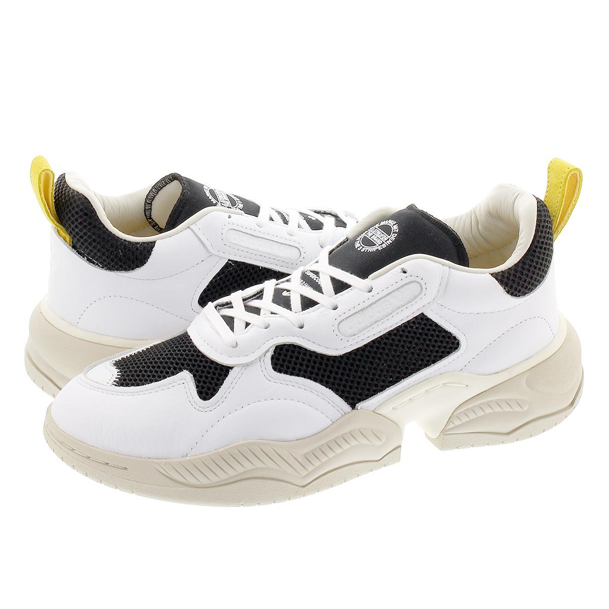 【お買い物マラソンSALE】 adidas SUPERCOURT RX アディダス スーパーコート RX FTWR WHITE/CORE BLACK/SPRING YELLOW eg6867