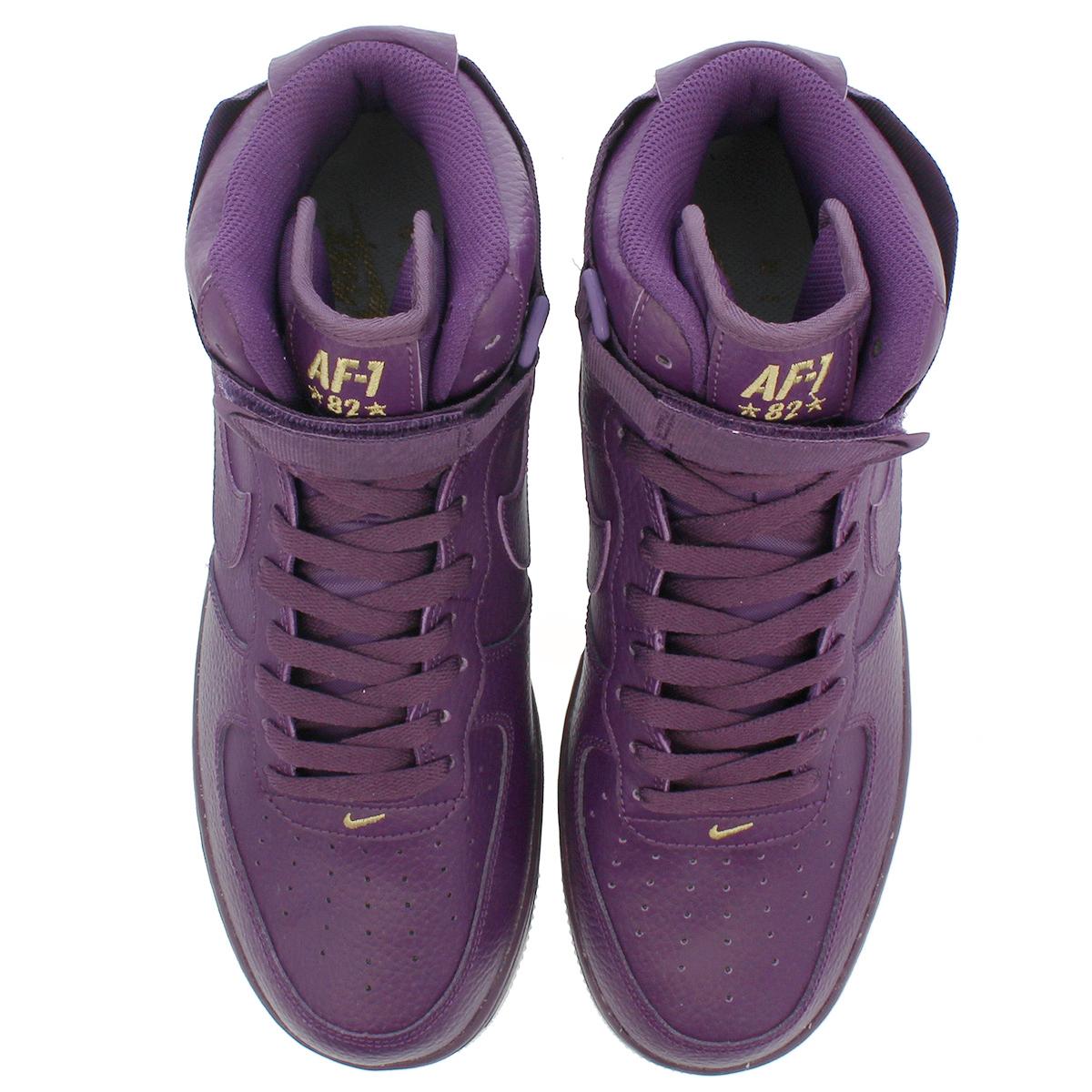 3ac2d43af08 NIKE AIR FORCE 1 HIGH 07 Nike air force 1 high 07 NIGHT PURPLE SUMMIT WHITE METALLIC  GOLD 315