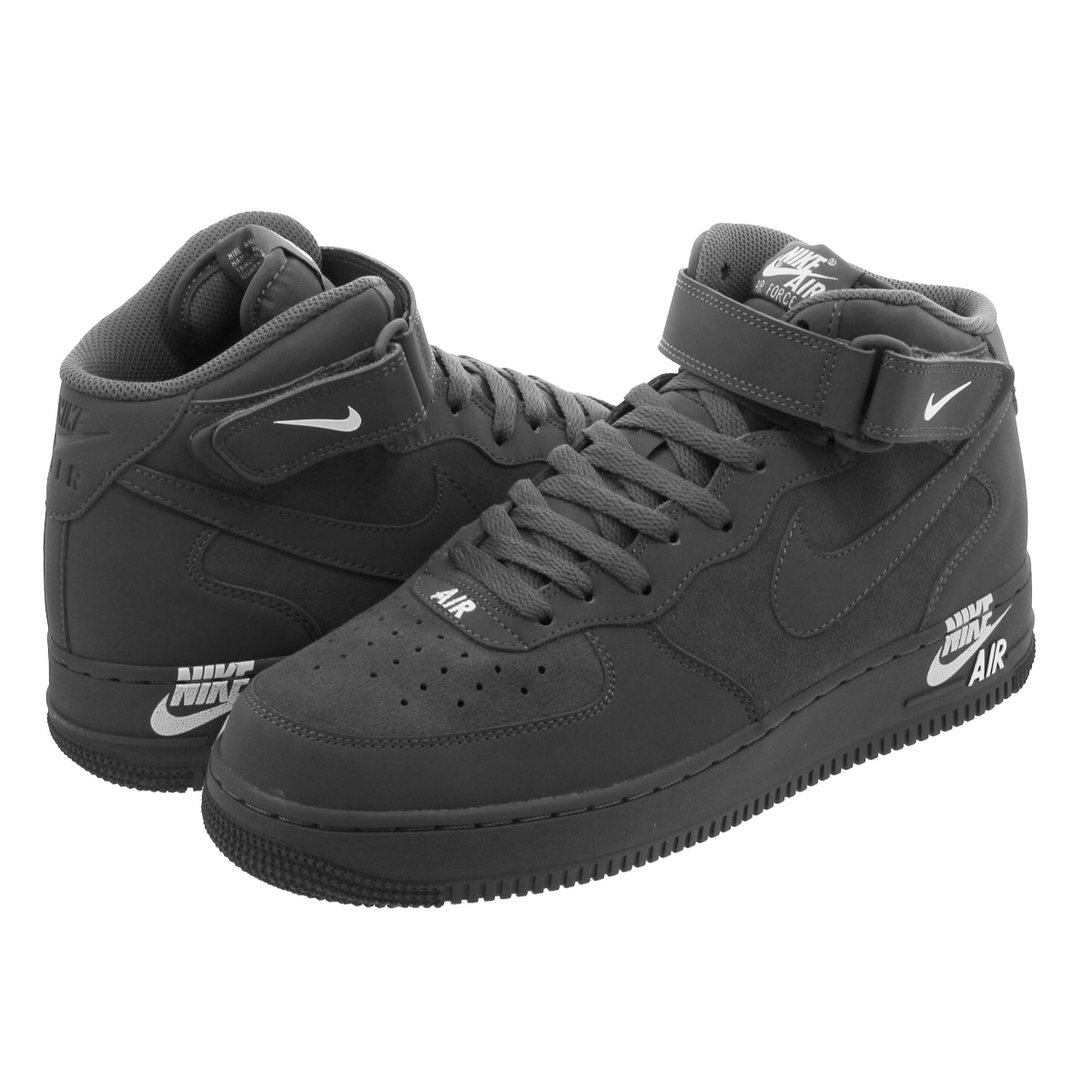 super popular 01ab9 946e2 NIKE AIR FORCE 1 MID '07 Nike air force 1 mid '07 DARK GREY/DARK GREY/WHITE  315,123-048