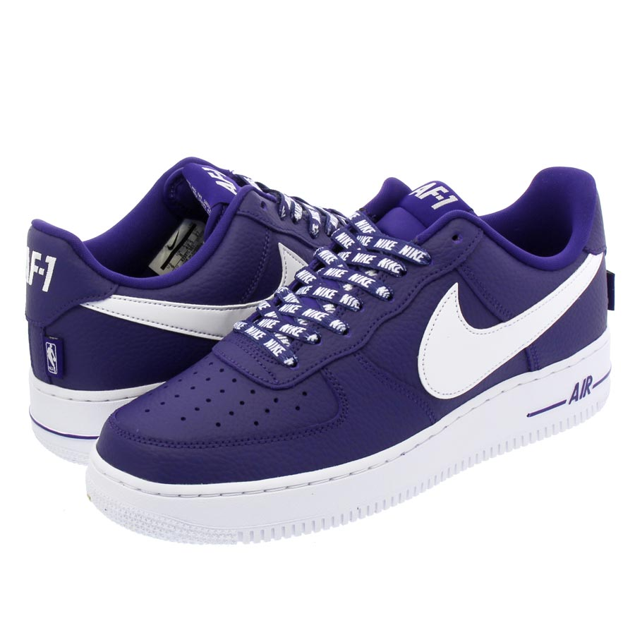 NIKE AIR FORCE 1 '07 LV8 【STATEMENT GAME】 ナイキ エア フォース 1 '07 LV8 COURT PURPLE/WHITE 823511-501