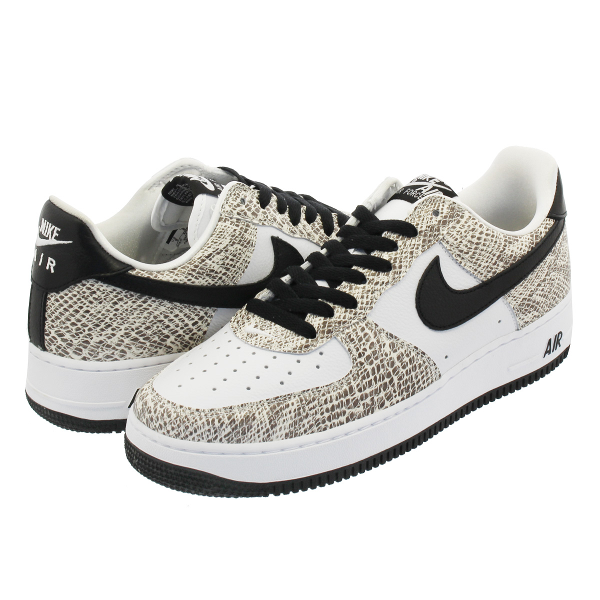 NIKE AIR FORCE 1 RETRO 【COCOA SNAKE】 ナイキ エア フォース 1 レトロ TRUE WHITE/BLACK/COCOA 845053-104