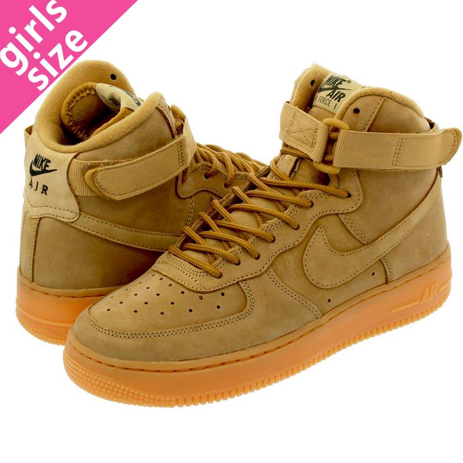 SELECT SHOP LOWTEX |  Global Market: HIGH NIKE AIR FORCE 1 HIGH Market: WB GS Nike air force 1 high WB GS FLAX OUTDOOR GREEN/GUM LIGHT BROWN dc4a04