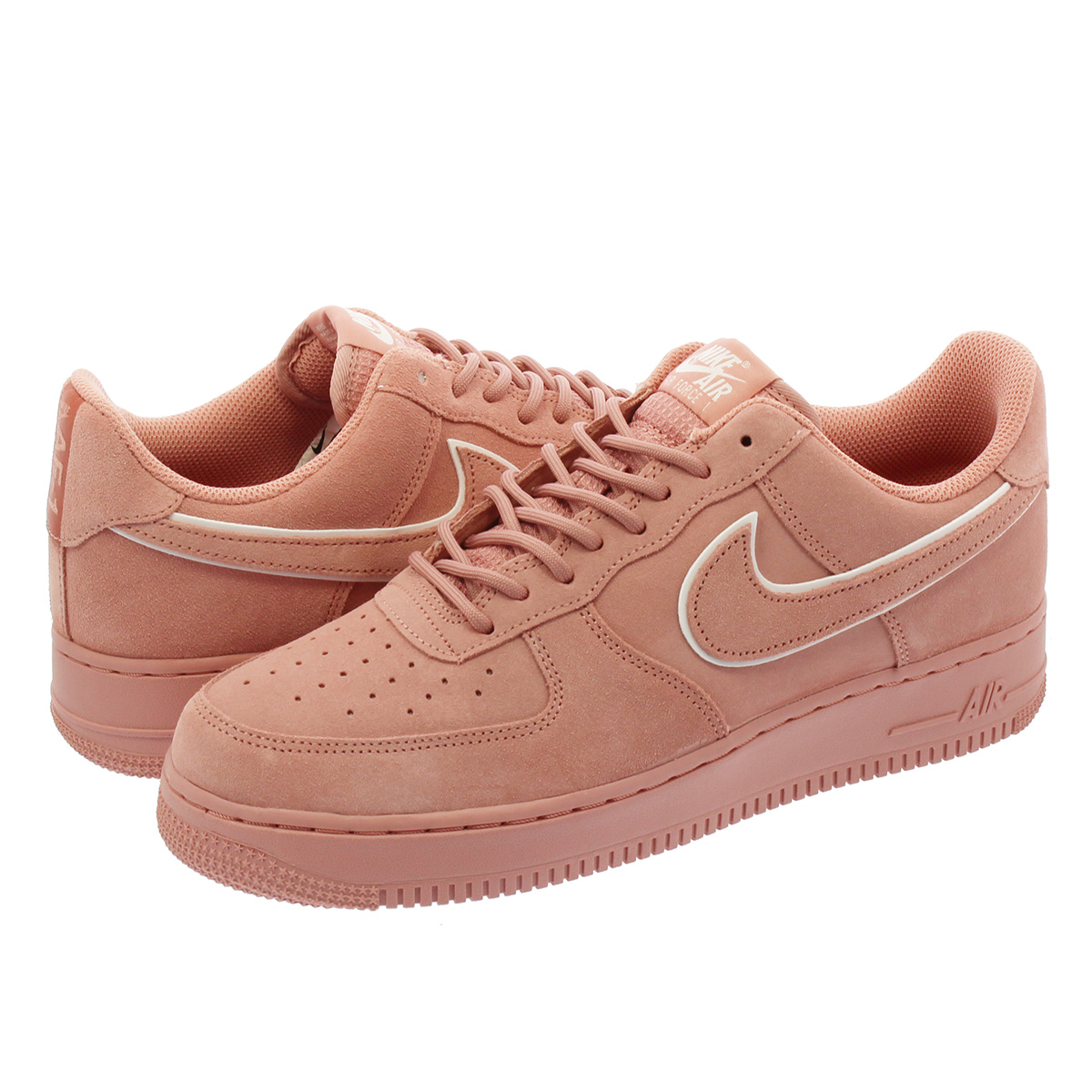 de47336b944 NIKE AIR FORCE 1  07 LV8 SUEDE Nike air force 1  07 LV8 suede RED STARDUST DRAGON  RED aa1117-601