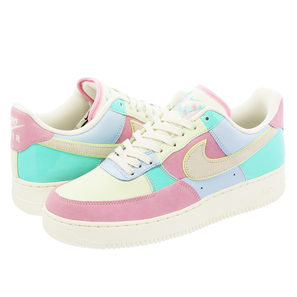 half off d6ca1 7973b NIKE AIR FORCE 1 LOW Nike air force 1 low Easter egg PINK/LIGHT BLUE/SAIL  ah8462-400