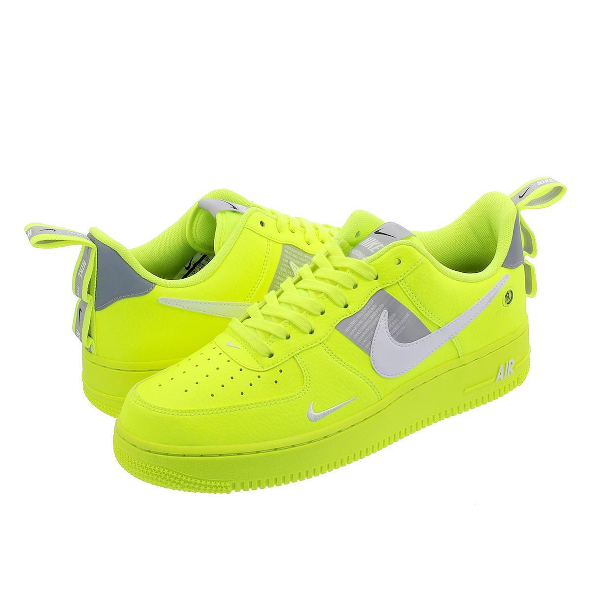 Nike Air Force 1 Utility Volt AJ7747 700 Mens Womens Running Shoes aj7747 700