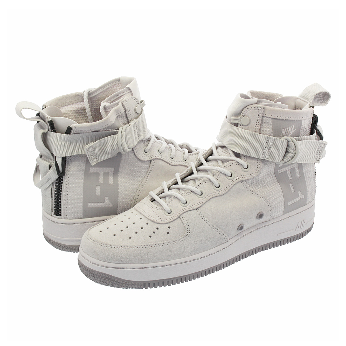 NIKE SPECIAL FIELD AIR FORCE 1 MID SUEDE 【SF AF-1】 ナイキ スペシャル フィールド エアフォース 1 ミッド スエード VAST GREY/ATMOSPHERE GREY