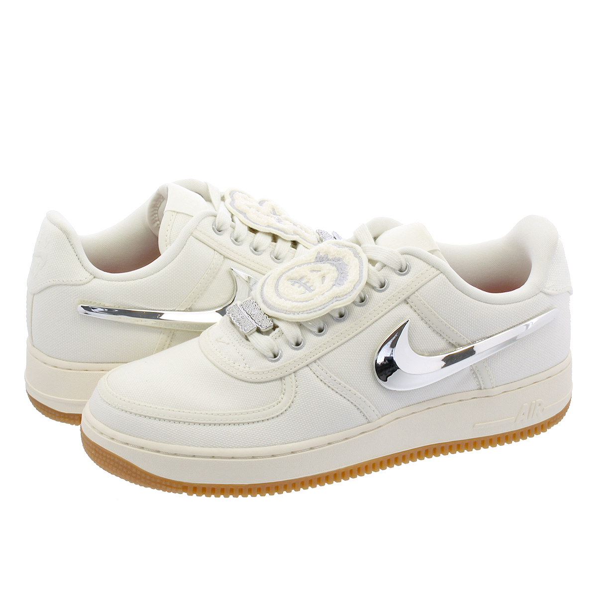 NIKE AIR FORCE 1 TRAVIS SCOTT Nike air force 1 Travis Scot SAIL aq4211 101