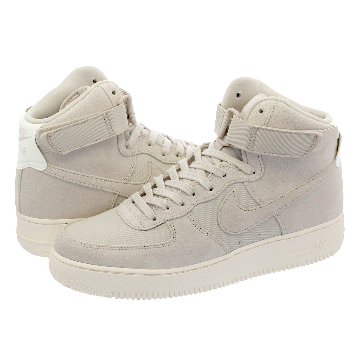 super popular 64b89 b14ae SELECT SHOP LOWTEX  NIKE AIR FORCE 1 HIGH 07 SUEDE Nike air force 1 high 07  suede BEIGE CREAM WHITE WHITE aq8649-001   Rakuten Global Market