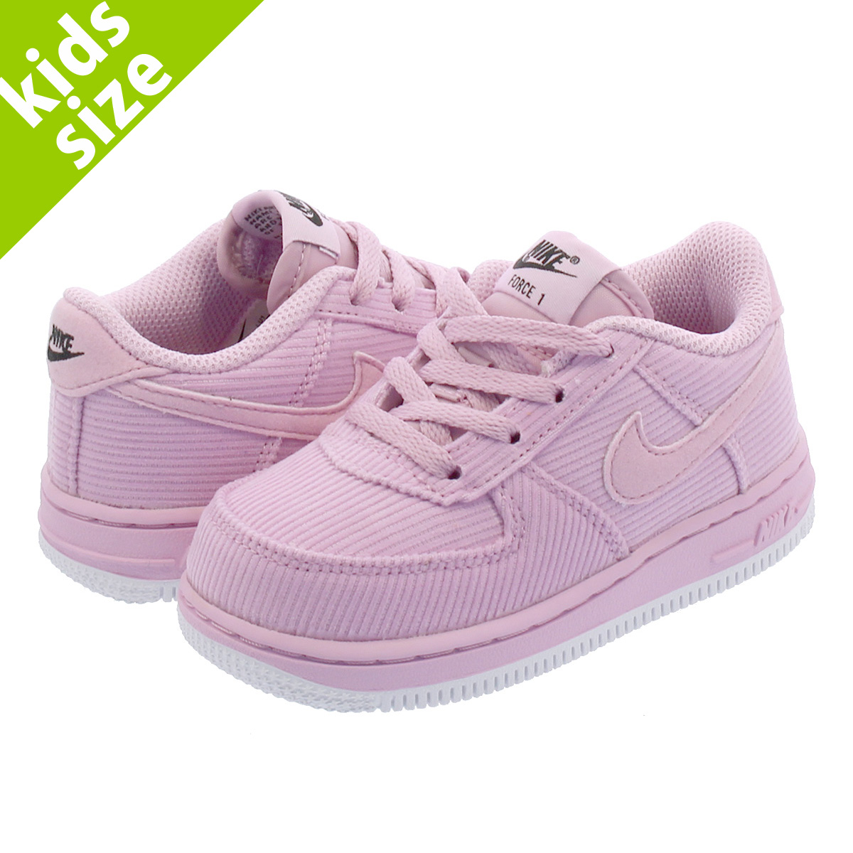 separation shoes 9ccac 94489 NIKE AIR FORCE 1 LOW TD Nike air force 1 low TD PINK WHITE ar2818-600