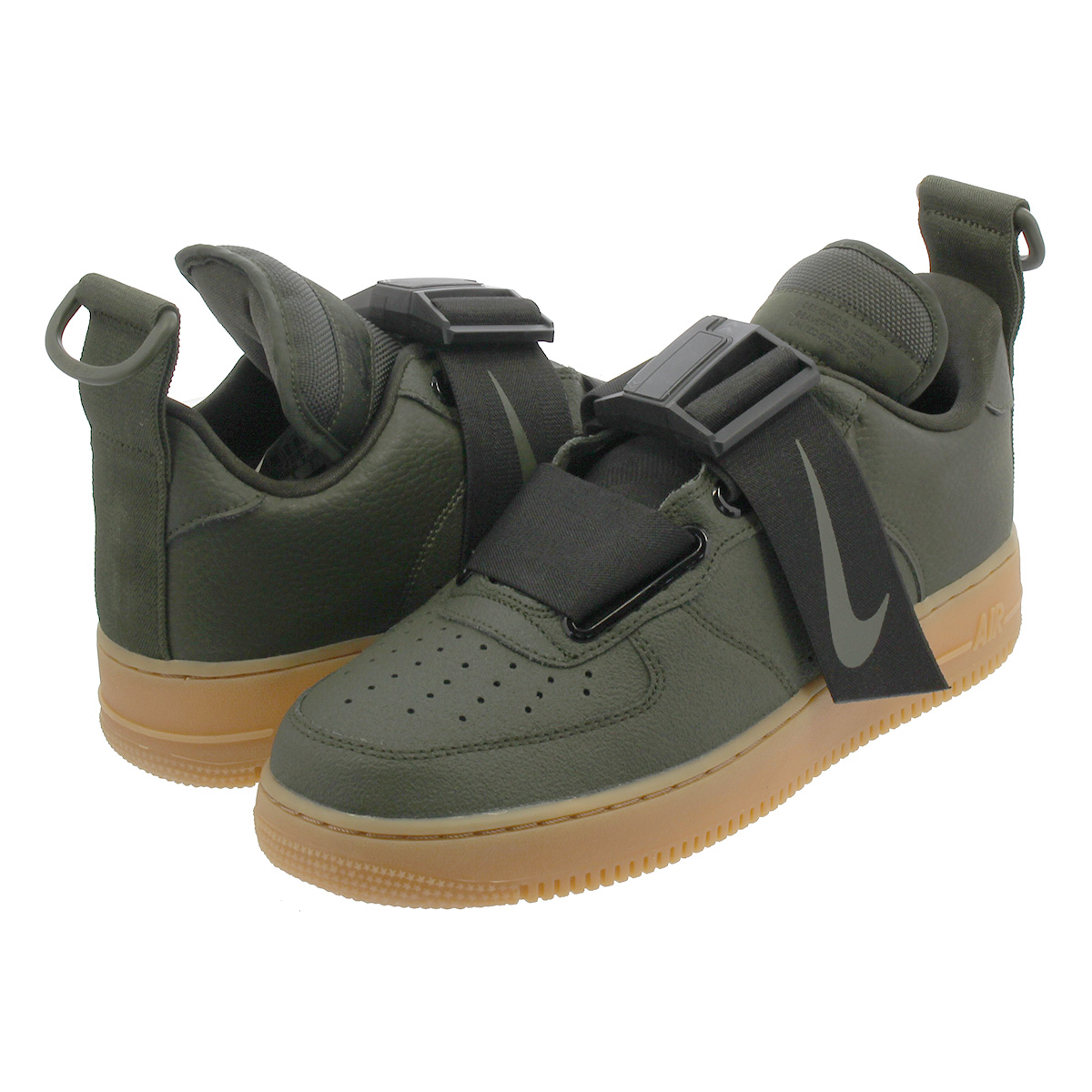 edc20c7986168a NIKE AIR FORCE 1 UTILITY Nike air force 1 utility SEQUOIA BLACK GUM MED  BROWN ao1531-300