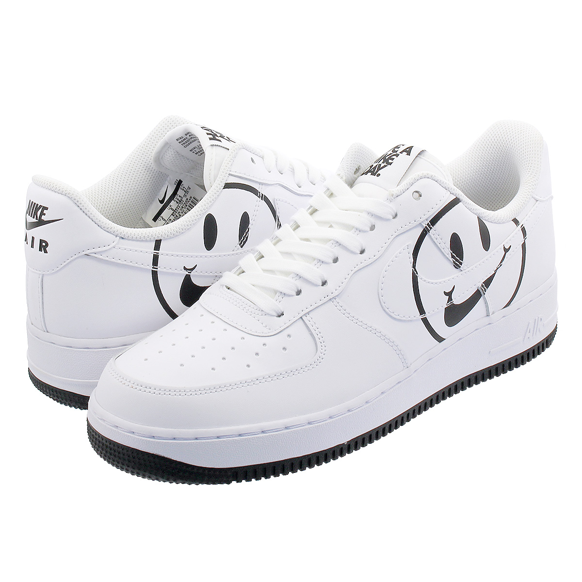 【ビッグ・スモールサイズ】 NIKE AIR FORCE 1 '07 LV8 ND 【HAVE A NIKE DAY】 ナイキ エア フォース 1 '07 LV8 ND WHITE/WHITE/BLACK bq9044-100
