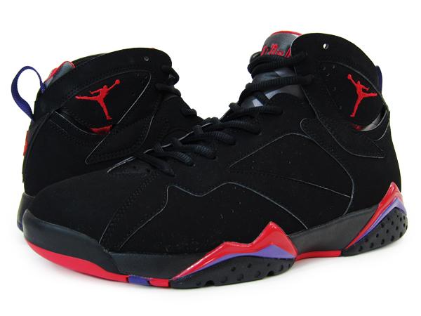 new product a7312 85403 NIKE AIR JORDAN 7 RETRO Nike Jordan 7 retro BLACK/RED/PURPLE