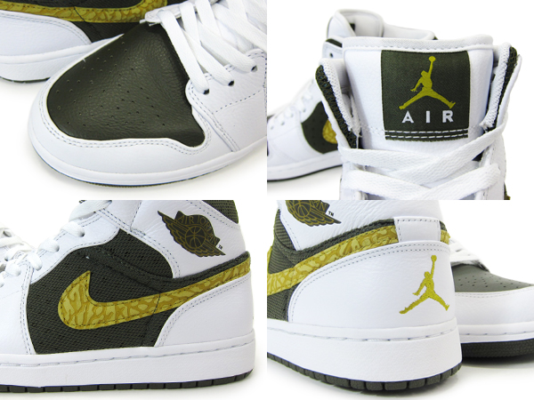 NIKE AIR JORDAN 1 PHAT Nike Air Jordan 1 Phat PEAT MOSS/CARGO KHAKI