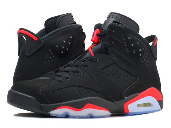 cozy fresh large discount buy cheap NIKE AIR JORDAN 6 RETRO BLACK/INFRARED 23/BLACK 【BLACK INFRARED】