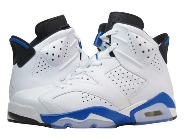 f554d146cd9 SELECT SHOP LOWTEX: NIKE AIR JORDAN 6 RETRO WHITE/BLUE 【SPORT BLUE】 |  Rakuten Global Market