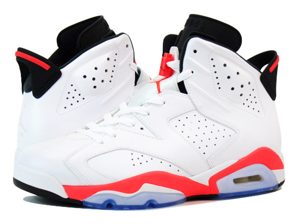 167b1a4f130b5d SELECT SHOP LOWTEX  NIKE AIR JORDAN 6 RETRO WHITE INFRARED BLACK ...