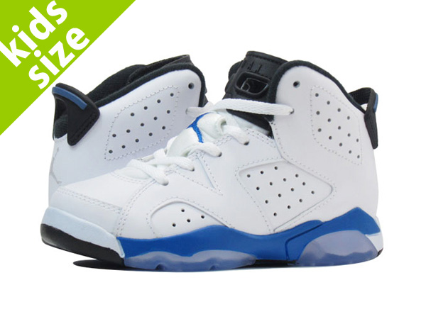 【キッズ サイズ】【16cm-22cm】 NIKE AIR JORDAN 6 RETRO PS 【