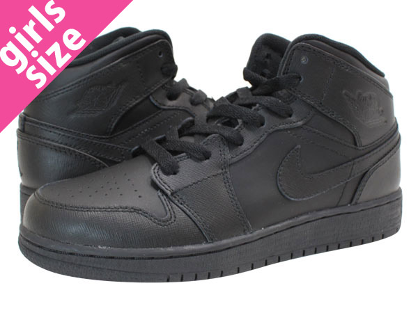 NIKE AIR JORDAN1 MID Nike Air Jordan 1 mid BLACK/BLACK