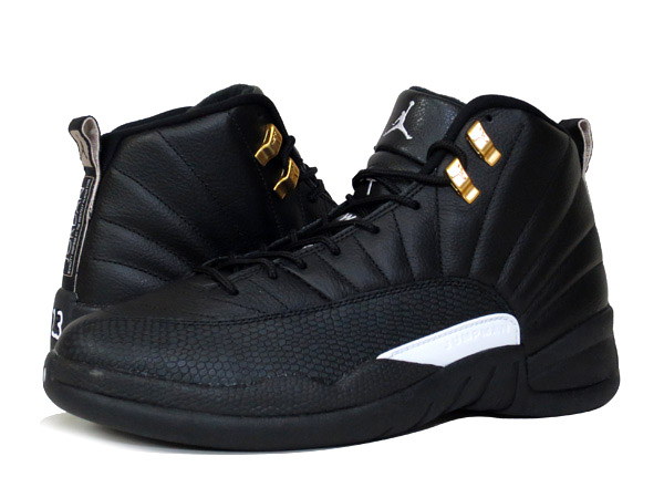 timeless design f12b2 768f4 NIKE AIR JORDAN 12 RETRO BLACK/WHITE/METALLIC GOLD 【THE MASTER】