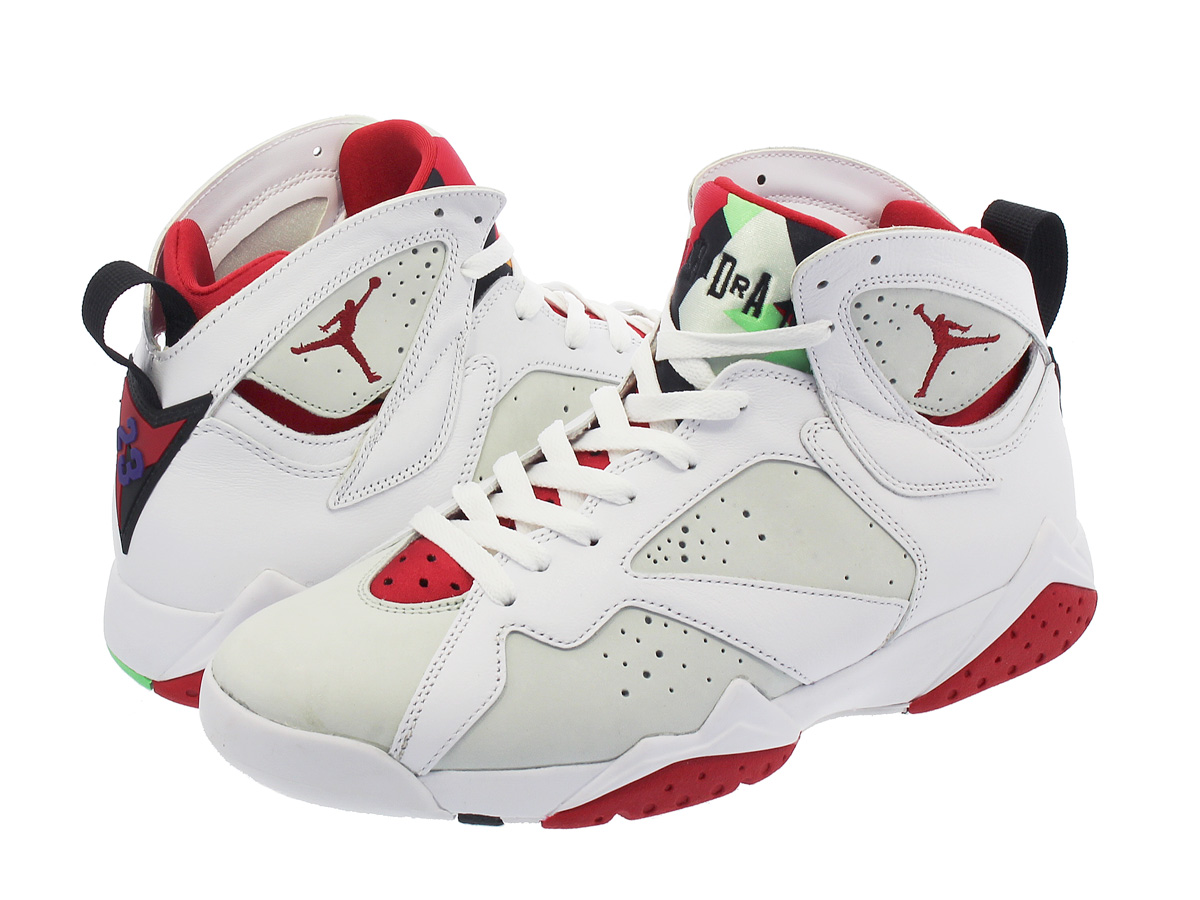new arrival 11ef5 fc01b NIKE AIR JORDAN 7 RETRO WHITE/TRUE RED/LIGHT SILVER/BLACK 【HARE】