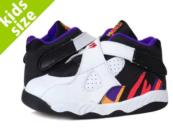 90d1f72f3478 NIKE AIR JORDAN 8 RETRO TD Nike Air Jordan 8 nostalgic TD WHITE RED BLACK  CONCORD