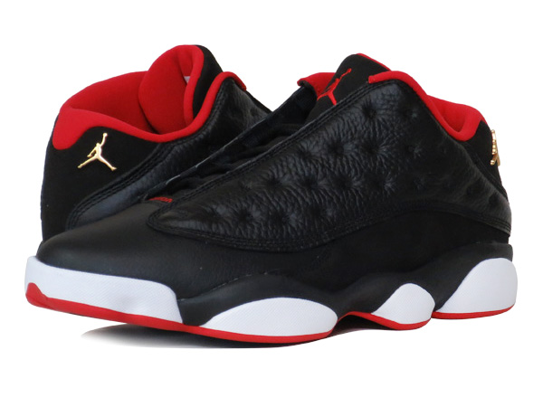 SELECT SHOP LOWTEX  NIKE AIR JORDAN 13 RETRO LOW BLACK METALLIC GOLD ... 509969b18