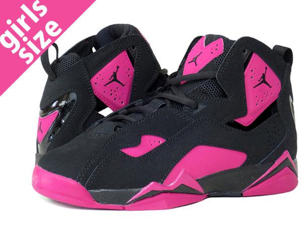 Air Jordan Vrai Noir De Vol Et Rose