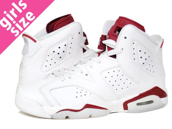29fcb582946 SELECT SHOP LOWTEX: NIKE AIR JORDAN 6 RETRO BG Nike Air Jordan 6 nostalgic  BG OFF WHITE/NEW MAROON | Rakuten Global Market