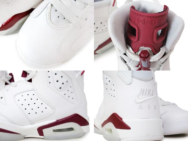 2c03e00084a ... NIKE AIR JORDAN 6 RETRO BG Nike Air Jordan 6 nostalgic BG OFF WHITE/NEW  ...