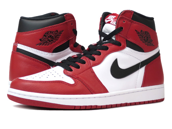nike air jordan red and white