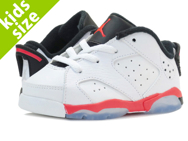 【ベビーサイズ】【8cm-16cm】 NIKE AIR JORDAN 6 RETRO LOW TD