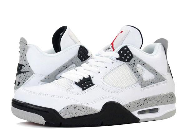 3a12f908587 NIKE AIR JORDAN 4 RETRO OG Nike Air Jordan 4 nostalgic OG WHITE FIRE RED BLACK TECH  GREY