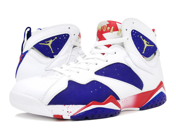 competitive price 2d92f 33f6a NIKE AIR JORDAN 7 RETRO WHITE METALLIC GOLD ROYAL BLUE INFRARED  OLYMPIC  ALTERNATE