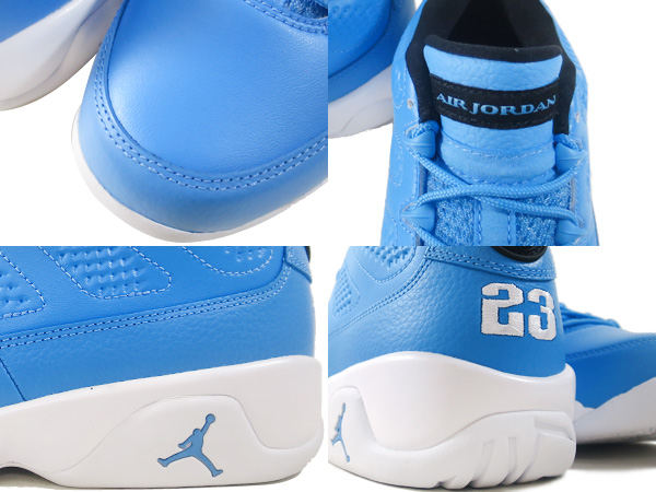 sports shoes 79c7e 0d097 ... free shipping nike air jordan 9 retro low nike air jordan 9 nostalgic low  university blue