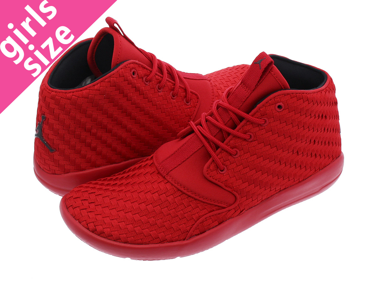92dcf8a0d356 jordan eclipse chukka size color gym red black quantity 1  nike air jordan  eclipse chukka woven bg bg red red