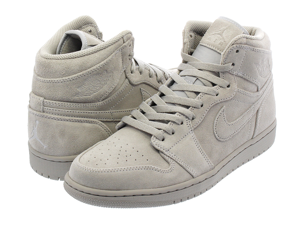 d9dc90f295d NIKE AIR JORDAN 1 RETRO HIGH Nike Air Jordan 1 nostalgic high WOLF GREY WOLF  GREY